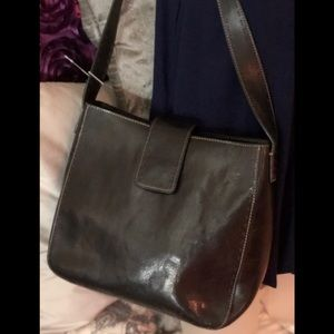 Fossil leather bag 💼